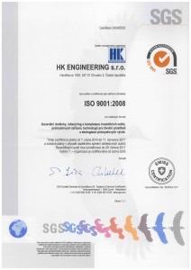 ISO 9001:2008 CZ