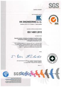 ISO 14001:2015 CZ