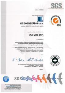 ISO 9001:2015 CZ
