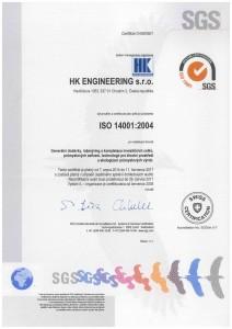 ISO 14001:2004 CZ
